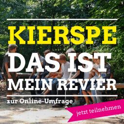 Kierspe - das ist mein Revier - zur Online-Umfrage