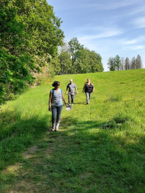 Wanderung entlang einer möglichen Trasse der B54n
